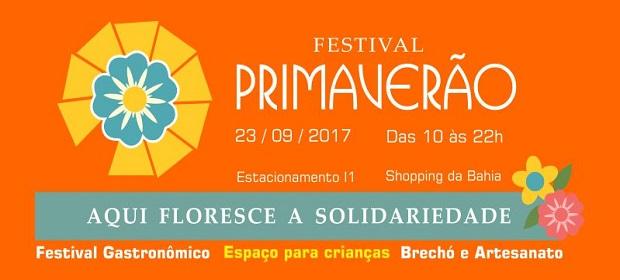 Shopping da Bahia será palco da quarta edição do Festival Primaverão.