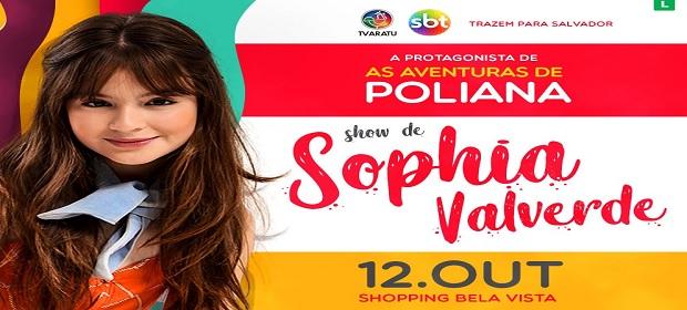Sophia Valverde apresenta show inédito em Salvador.