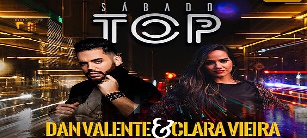 Dan Valente e Clara Vieira agitam o 'Sábado Top' no Zen Salvador.