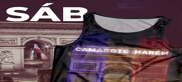 Carnaval 2019: Camarote Harém faz homenagem a Paris.