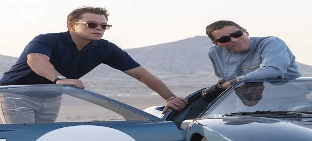 Fox Film divulga primeiro trailer de 'Ford Vs Ferrari'.