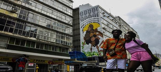Projeto MURAL (Movimento Urbano de Arte Livre) em Salvador.