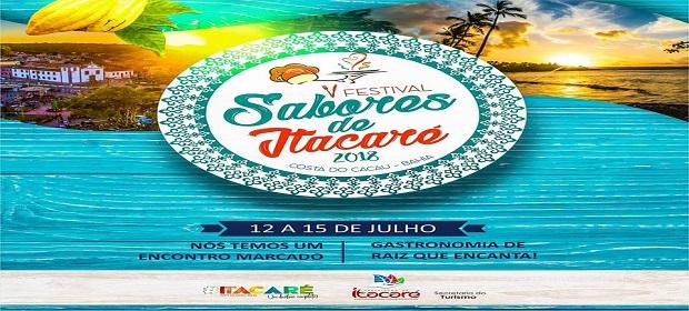 5º Festival Gastronômico ´Sabores de Itacaré´.