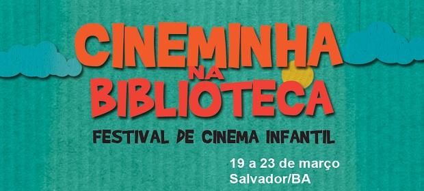 Cineminha na Biblioteca - Festival de Cinema Infantil.