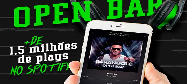 'Open Bar', do Parangolé, alcança número estrondoso no Spotify.