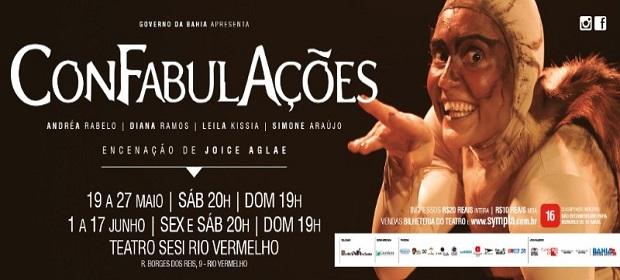 Espetáculo ConFabulAções estreia sábado (19).