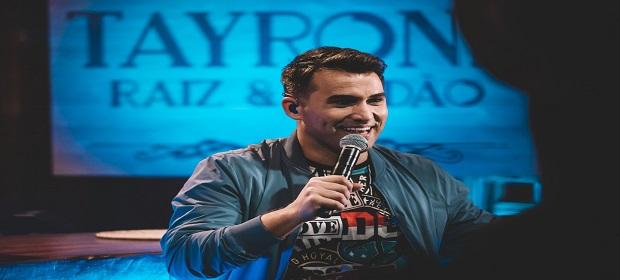 Tayrone lança DVD pela Universal Music.