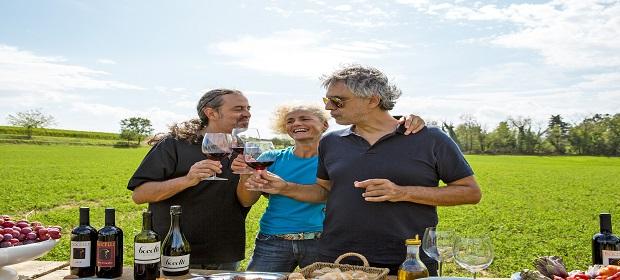 Andrea Bocelli traz sabores italianos para La Pasta Gialla.