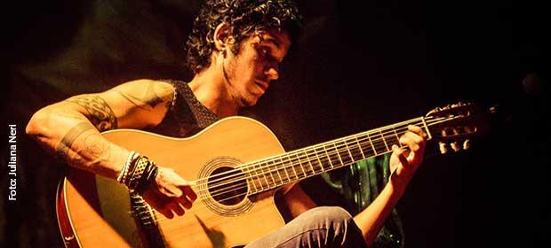 Paulo Victor no show O Som do Silêncio