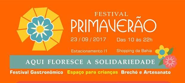 Festival Primaverão - Evento Beneficente