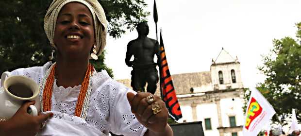 10ª Lavagem da Estátua de Zumbi dos Palmares