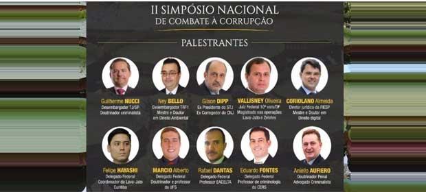 II Simpósio Nacional de Combate a Corrupção